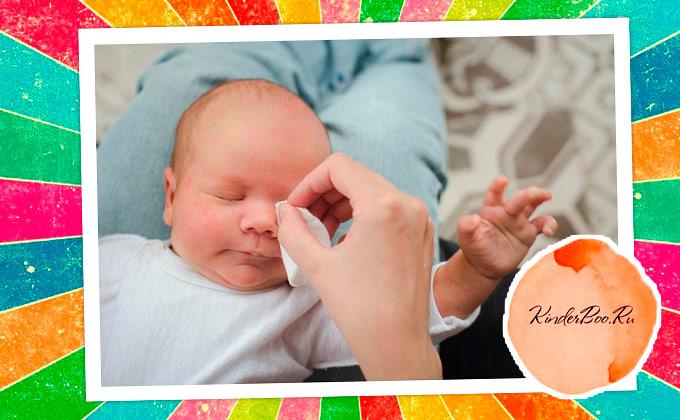 Как закапывать капли в глаза новорожденным?