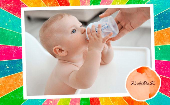 Как давать водичку новорожденному при грудном и искусственном вскармливании?